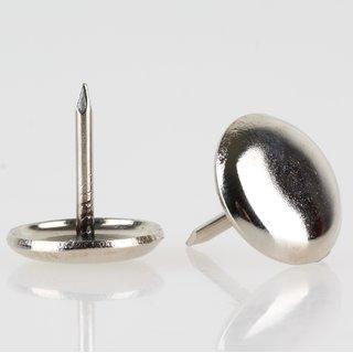 Stuhlbeinnagel Möbelgleiter 16mm Metall vernickelt