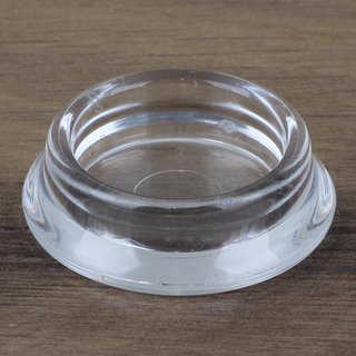 Möbeluntersetzer rund 23/35mm transparent