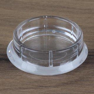 Möbeluntersetzer rund 33/46mm transparent