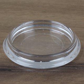 Möbeluntersetzer rund 50/65mm transparent