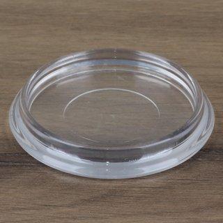 Möbeluntersetzer rund 60/75mm transparent