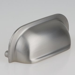 Häfele Muschelgriff Schalengriff 109x32mm Nickel gebürstet Lochabstand 96mm