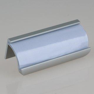 Häfele Möbelgriff Etikettengriff 80x27mm Aluminium Lochabstand 54mm