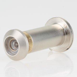 Häfele Türspion 12mm mit Klappe Messing matt vernickelt 31-55mm Türdicke