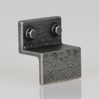 Häfele Möbelgriff Sockelgriff verzinnt antik Used Look Lochabstand 32mm