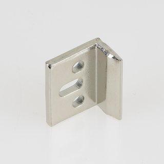 Häfele Schließwinkel für Möbelriegel 18x9mm vernickelt