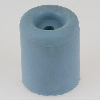 Häfele Türstopper Bodentürstopper Gummi TS8 grau-blau 40x50mm zum Schrauben