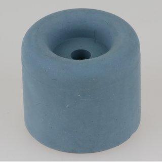 Häfele Türstopper Bodentürstopper Gummi TS8 grau-blau 40x35mm zum Schrauben