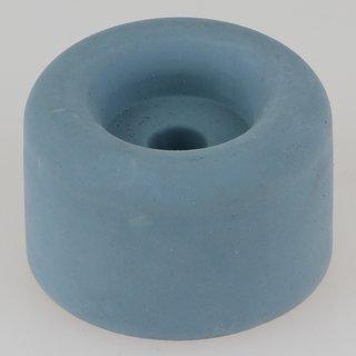 Häfele Türstopper Bodentürstopper Gummi TS8 grau-blau 40x25mm zum Schrauben