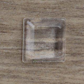Häfele Anschlagpuffer transparent DB127 rund 12,7x12,7mm zum Kleben