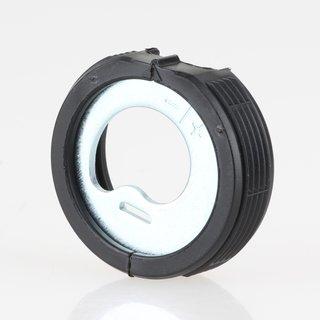 Häfele Möbelaufhänger zum Einbohren mit Höhenverstellung 35mm schwarz