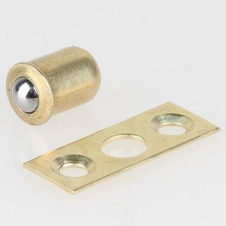 Häfele Kugelschnäpper zum Einpressen 7,5x6,5mm vermessingt