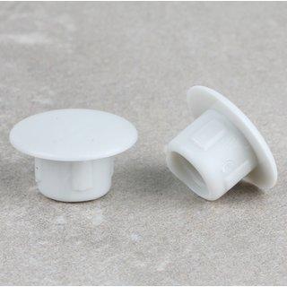 Häfele Möbel Abdeckkappe 8mm zum Eindrücken Kunststoff grau