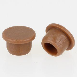 Häfele Möbel Abdeckkappe 6mm zum Eindrücken Kunststoff braun