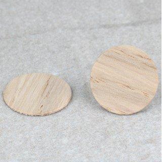 Häfele Möbel Abdeckkappe zum Kleben aus Echtholz 14mm Eiche