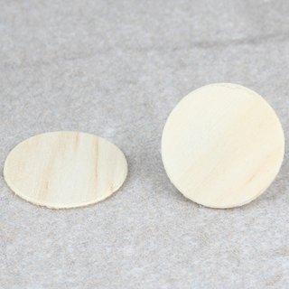 Häfele Möbel Abdeckkappe zum Kleben aus Echtholz 14mm Kiefer