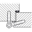 Häfele Startec Einbohrband aus Stahl verzinkt für gefältzte Innentüren bis 40kg