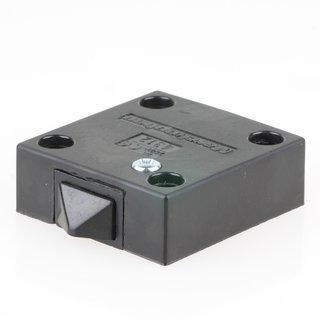 Häfele Türkontaktschalter mit Universaltaster 230V/2A schwarz