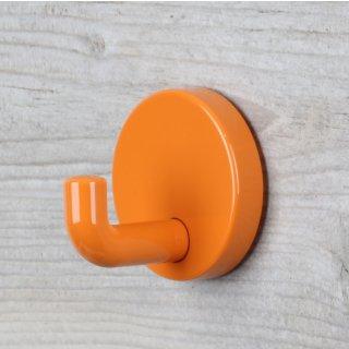 Häfele Garderobenhaken aus Kunststoff 50x45mm orange glänzend
